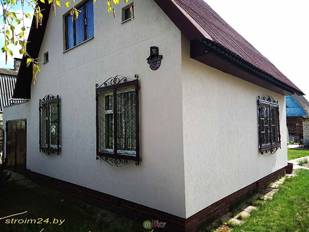 Штукатурка фасада дома